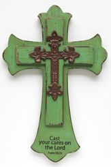 Cast Your Cares On The Lord, Wall Cross