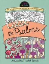 Color the Psalms: An Adult Coloring Book for Your Soul - Slightly Imperfect