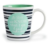 Be Still And Know, Stoneware Mug