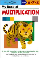 Kumon My Book of Multiplication, Ages 6-8