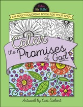 Color the Promises of God: An Adult Coloring Book for Your Soul - Slightly Imperfect
