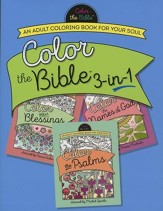 Color the Bible 3-in-1: An Adult Coloring Book for Your Soul - Slightly Imperfect