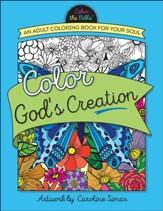 Color God's Creation: An Adult Coloring Book for Your Soul - Slightly Imperfect