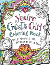 You're God's Girl Coloring Book - Slightly Imperfect