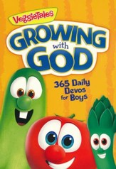 Growing with God: 365 Daily Devos for Boys