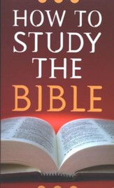 How to Study The Bible (Robert West)