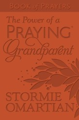 The Power of a Praying Grandparent Book of Prayers--soft leather-look, rust