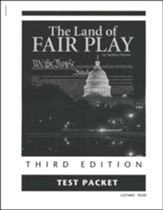 The Land of Fair Play, Third Edition  Test Packet, Grade 8  (Remedial Grades 9-12)