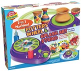 Pottery Wheel And Splash Art studio