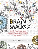 Brain Snacks: Good-for-Your-Soul Puzzles and Activities for Adults - Slightly Imperfect