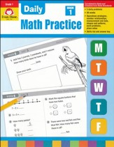 Daily Common Core Math Practice Grade 1, New Edition