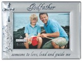 Godfather Photo Frame, Silver