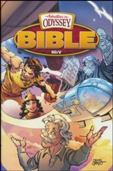 NIrV Adventures in Odyssey Bible (Hardcover)
