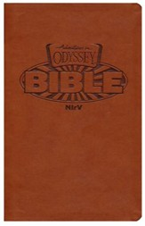 NIrV Adventures in Odyssey Bible (Brown Italian Leatherette)