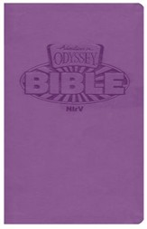NIrV Adventures in Odyssey Bible (Purple Italian  Leatherette)