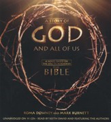 A Story of God and All of Us: A Novel Based on the Epic TV Miniseries The Bible Unabridged Audiobook on CD