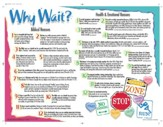 Why Wait? - Laminated Wall Chart