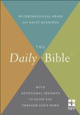 NIV Daily Bible, hardcover