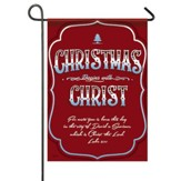 Christmas Begins With Christ, Small Flag