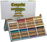 Crayola, Construction Paper Crayons, 8 Colors, 160 Pieces
