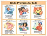 God's Promises for Kids, Laminated NIV Wall Chart