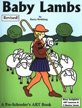 Baby Lambs: A Preschooler's Art  Book, Revised