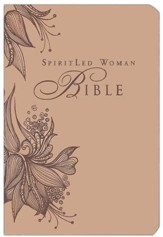 MEV SpiritLed Woman Bible--soft leather-look, rose tan