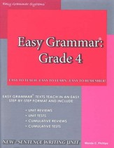 Easy Grammar Grade 4  - Slightly Imperfect