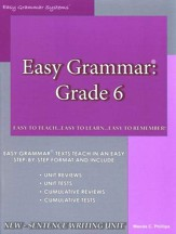 Easy Grammar Grade 6  - Slightly Imperfect