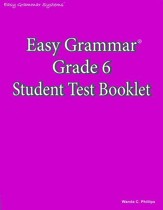 Easy Grammar Grade 6 Test Book