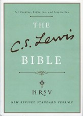The C.S. Lewis Bible, NRSV  - Slightly Imperfect