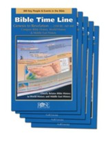 Bible Time Line Pamphlet - 5 Pack