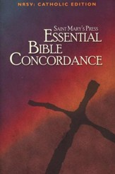 Saint Mary's Press Essential Bible Concordance: NRSV Catholic Edition