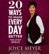20 Ways To Make Every Day Better, Audio CD
