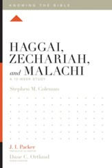 Haggai, Zechariah, and Malachi: A 12-Week Study - eBook