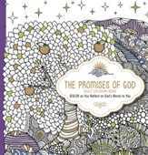 The Promises of God: Color as You Reflect on God's Words to You, adult coloring book