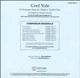 Cool Yule: 6 Christmas Jams for Modern Youth Choir Accompaniment CD (Split)
