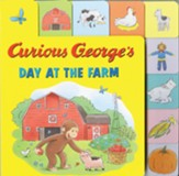 Curious George's Day at the Farm Tabbed Lift-the-Flap
