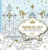 Escenas del Cielo, Libro de Colorear para Adultos (Scenes from Heaven, Adult Coloring Book)