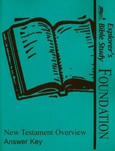 Explorers Bible Study Foundations New Testament Overview Answers