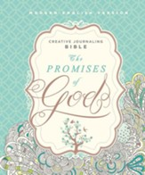 MEV The Promises of God Creative Journaling Bible, Hardcover