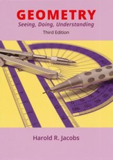 Jacobs Geometry: Seeing, Doing,  Understanding Textbook (3rd  Edition)