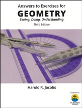 Answers to Exercises for Jacob's Geometry: Seeing, Doing,  Understanding (3rd Edition)