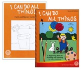 I Can Do All Things: A Beginning Book of Drawing and Painting Book with Paint and Marker Cards (2nd Edition)