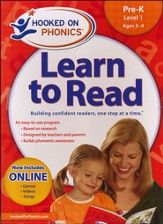 Hooked On Phonics: Learn To Read Pre-K Level 1