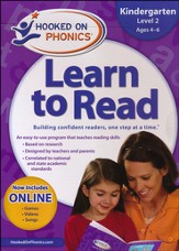 Hooked On Phonics: Learn To Read Kindergarten Level 2