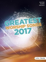 Greatest Worship Songs 2017, Songbook