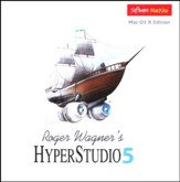HyperStudio 5 on CD-Rom (for MAC OS X)