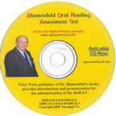 Blumenfeld Oral Reading Assessment Test Pronunciation CD-Rom