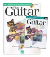 Play Guitar Today Beginner's Pack-Book/CD/DVD